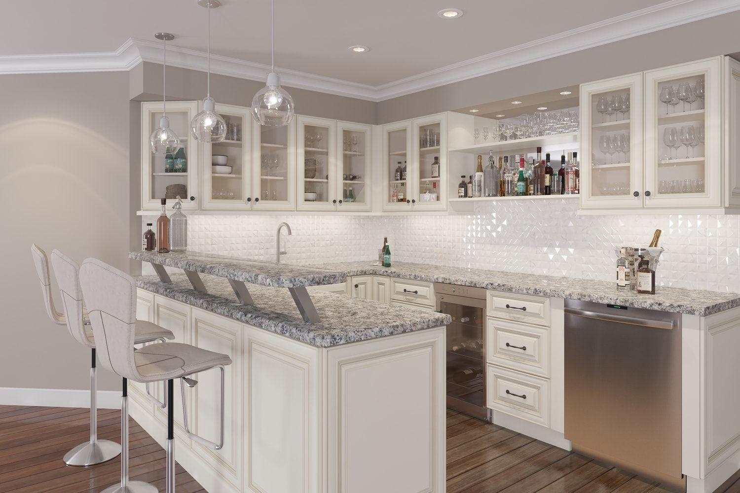 Cambridge Antique White Glaze Ready To Assemble Kitchen Cabinets Kitchen Cabinets Rta Kitchen Cabinets Assembled Kitchen Cabinets Kitchen Cabinets