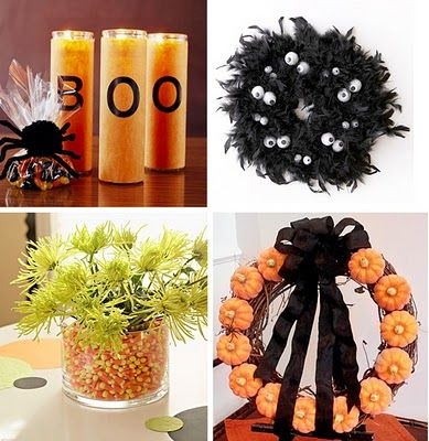 Great Wreath! And the candles are so cute! DIY  Crafts