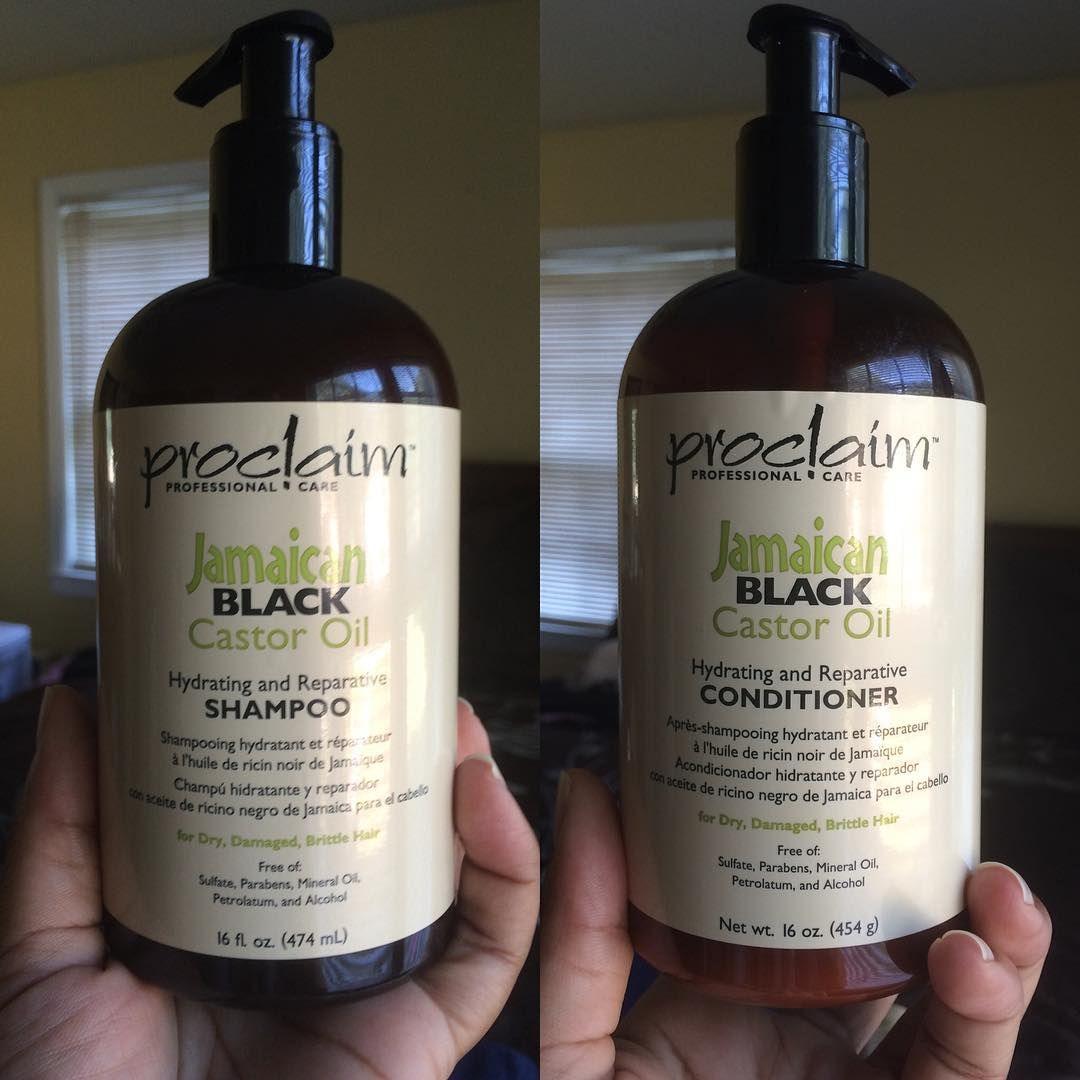 Proclaim Jamaican Black Castor Oil Hydrating And Reparative Conditioner Great As A Co Wash Provides Shine