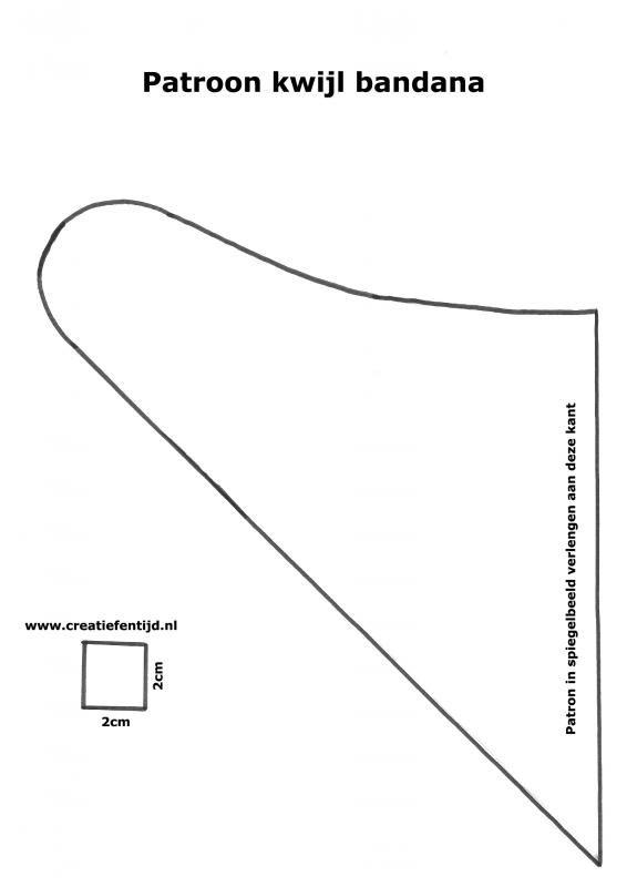 Nieuw Kwijl bandana   Tutorials   Creatief en tijd (met afbeeldingen JN-48