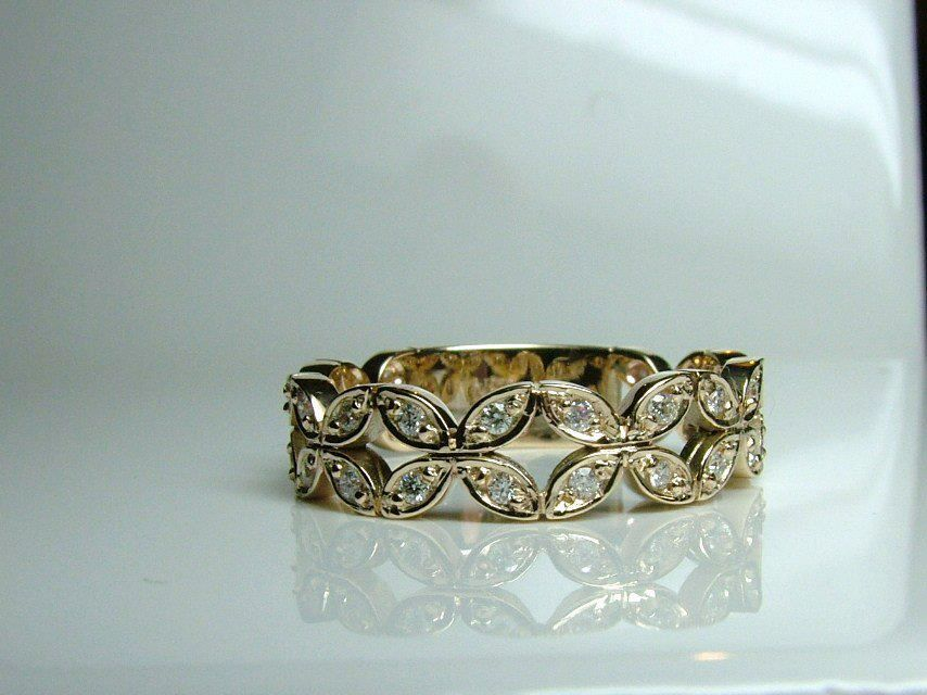 D Shaped Ring Band Tutorial