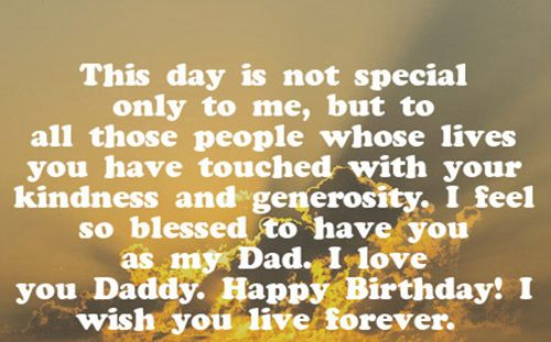 36 Heart Touching Birthday Wishes For Dad