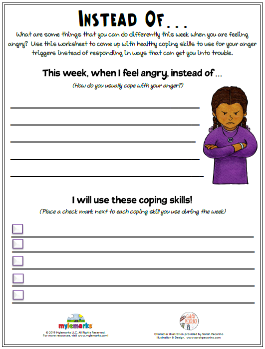 44+ Anxiety triggers worksheet pdf For Free