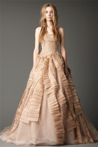 Admirable A-line Floor-length Sleeveless Strapless Backless Satin Designer Wedding Dresses