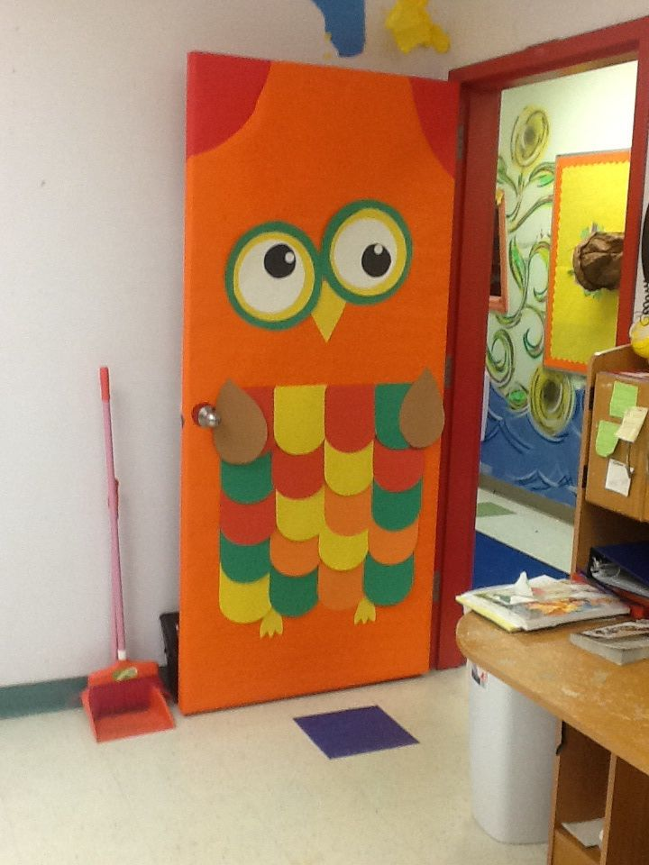 Fall Is A Hoot Owl Door Owl Door Owl Door Decorations