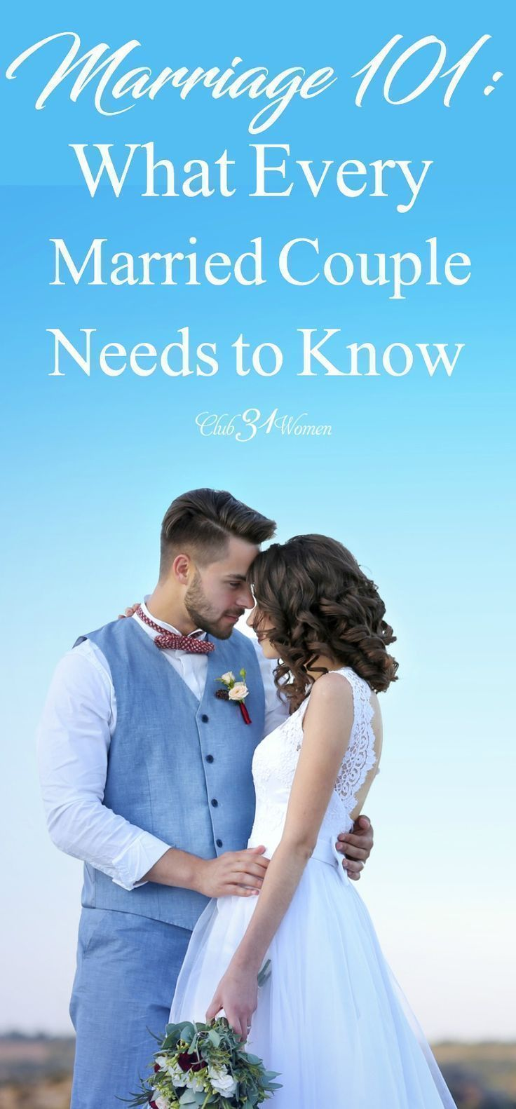 Marriage 101 what every married couple needs to know