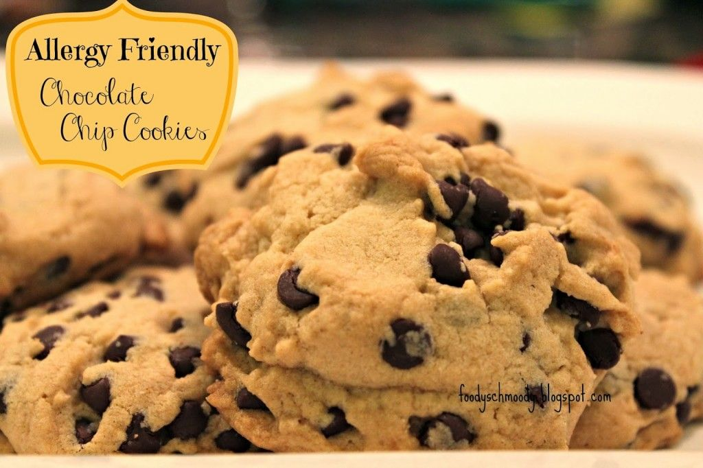 Allergy friendly chocolate chip cookies featured recipe on the food forumfinder Images