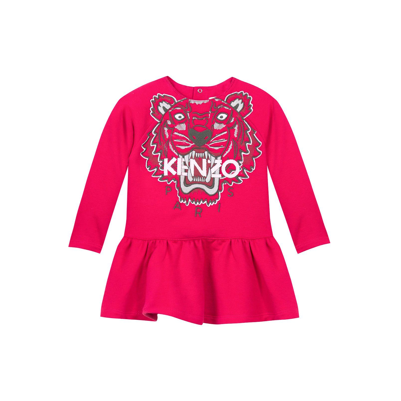 6dfd770cbee3 Kenzo Babykleid Kids Robe Molleton Robe  Babymode  Bekleidung  Baby  Kleid   Kenzo