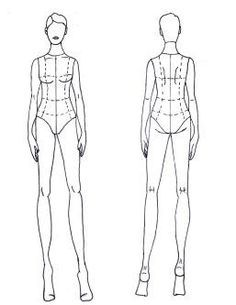 image result for croquis back fashion design in 2018 croquis