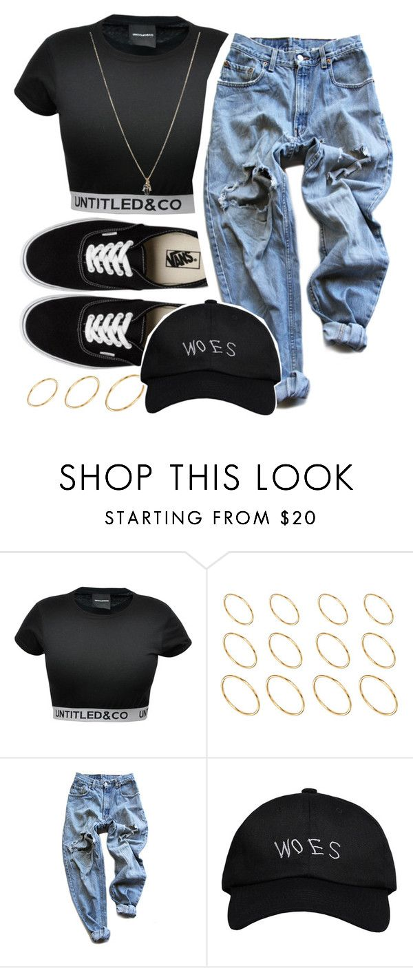 """Told Me everything about you, that's a bold move"" by queen-tiller ❤ liked on Polyvore featuring CO, Vans, ASOS, Levi's and October's Very Own"