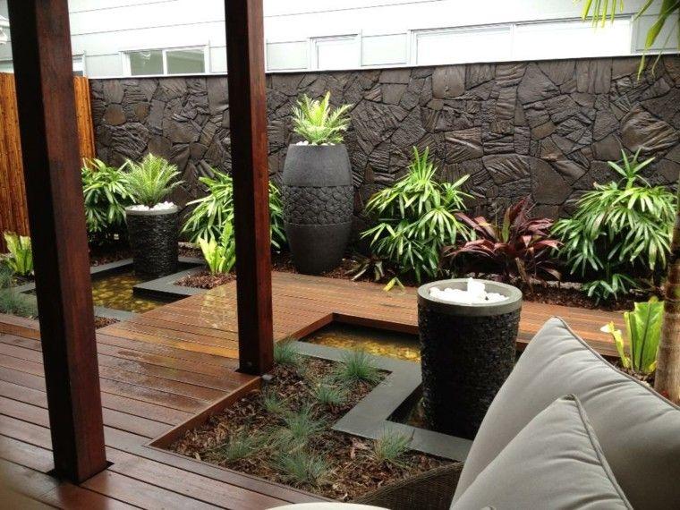 Piedras moldeadas para muros de exterior muros for Piedras para patios exteriores