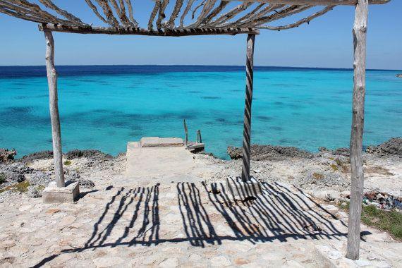Cuba  Turquoise Sea and Dock  Individual by BluebellandtheFox