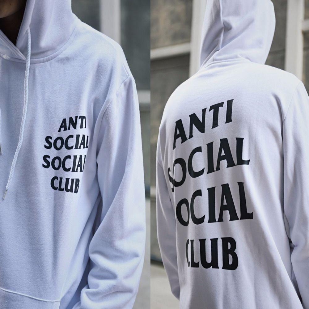 Aliexpress Com Buy Fashion Street Wear Famous Brand Anti Social Social Club Men Hoodies Sweatshirts Kanya W Hoodies Men Streetwear Fashion Sweatshirts Hoodie