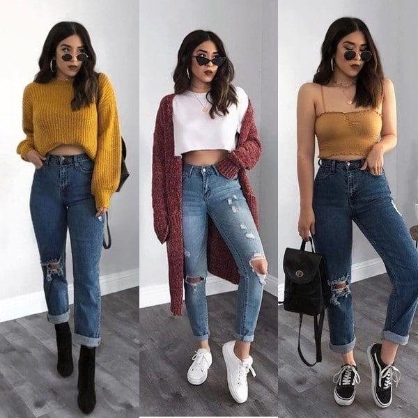 Bonnes façons de porter des jeans   – Outfits denim