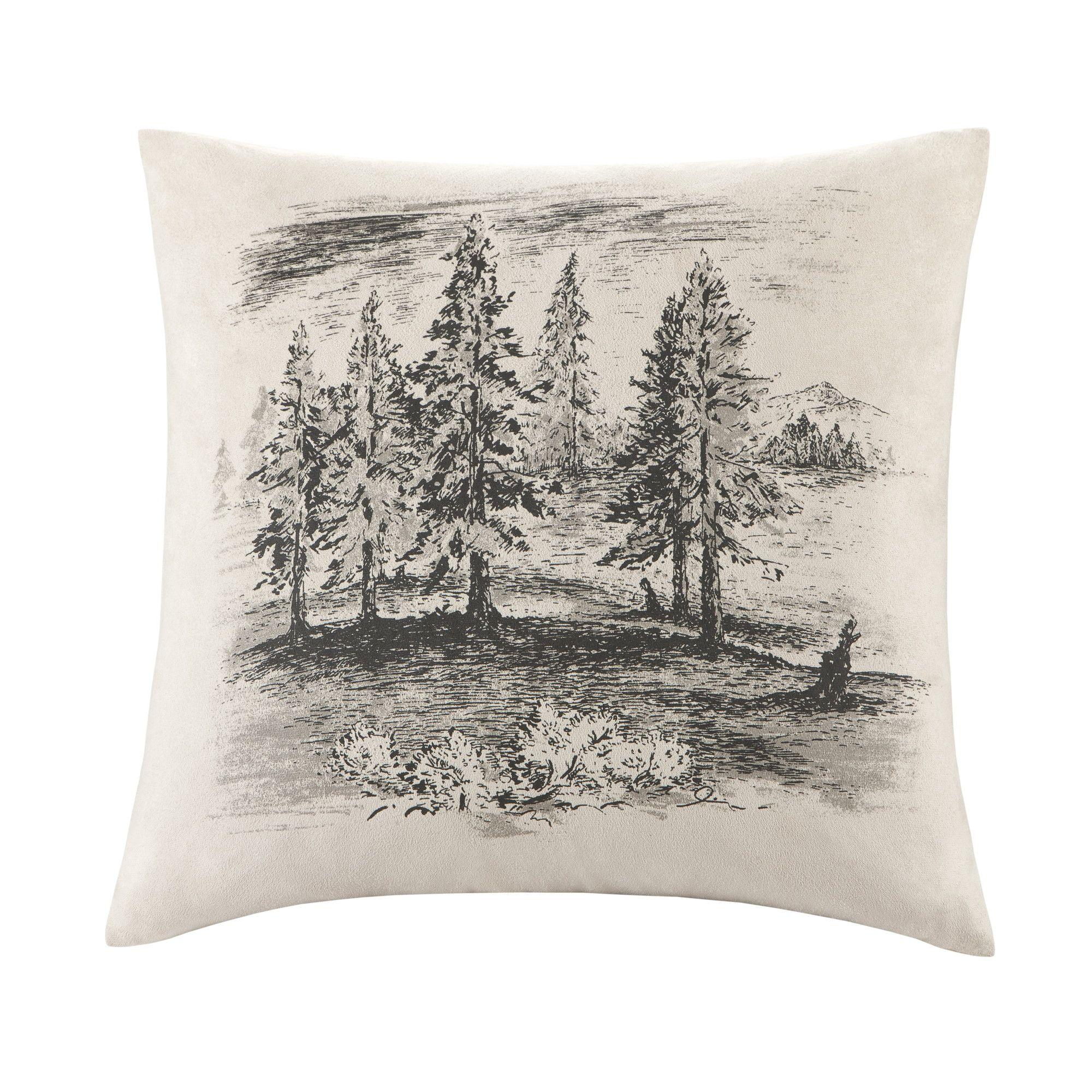 Woolrich Bear Creek Square Pillow | Wayfair