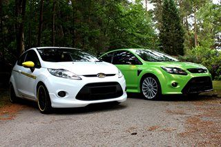 Focus RS vs Fiesta