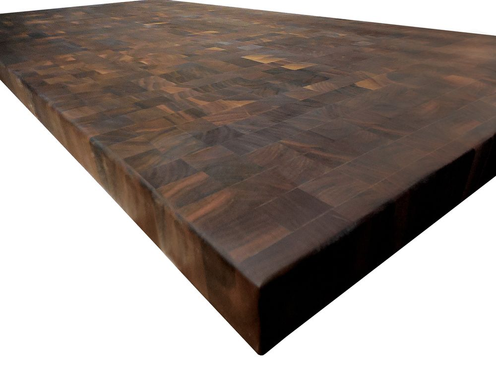 End Grain Walnut Butcher Block Countertop Customize Order