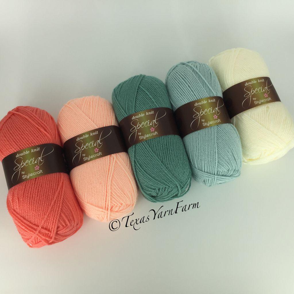 Stylecraft Special Dk Color Combination Ideas Shrimp Apricot Sage Duck Egg Cream Yarn Color Combinations Yarn Colors Yarn Inspiration