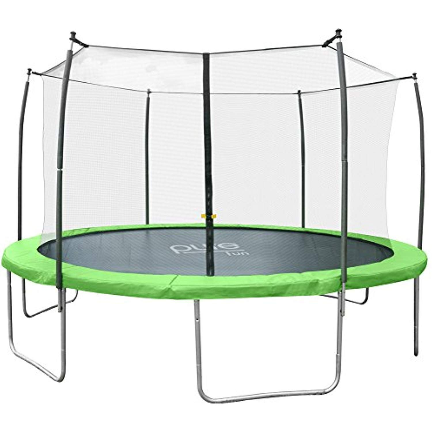 Pure Fun DuraBounce Outdoor Trampoline with Enclosure