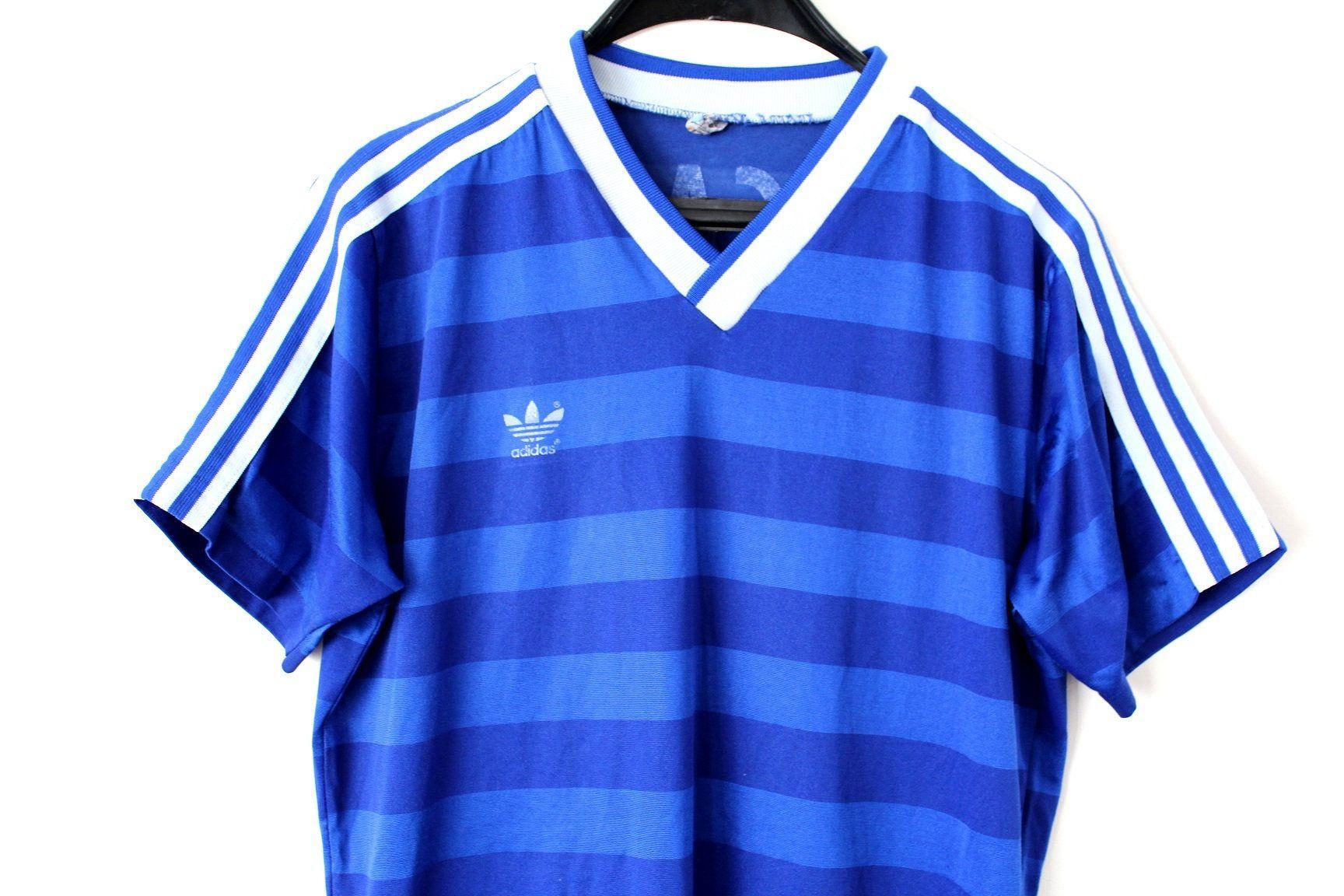 adidas originals stripe football t shirt