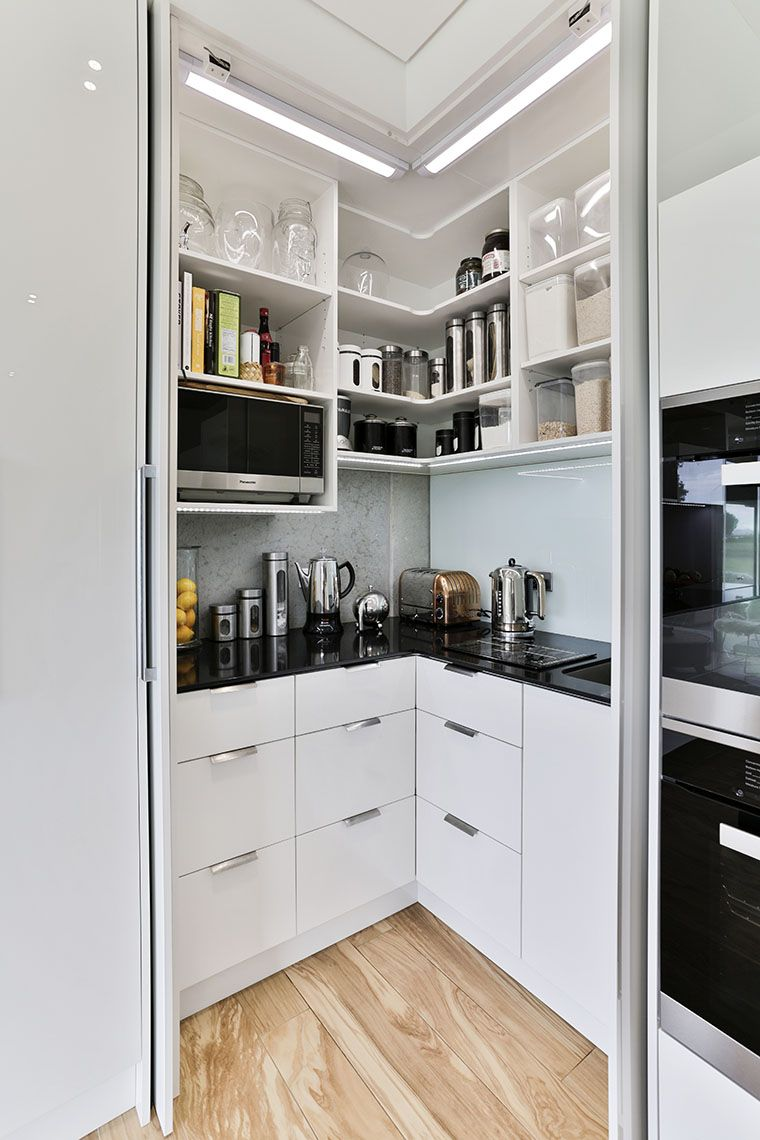 kitchen sculleries and walk in pantries with images corner kitchen pantry kitchen pantry on kitchen cabinets organization layout id=56691