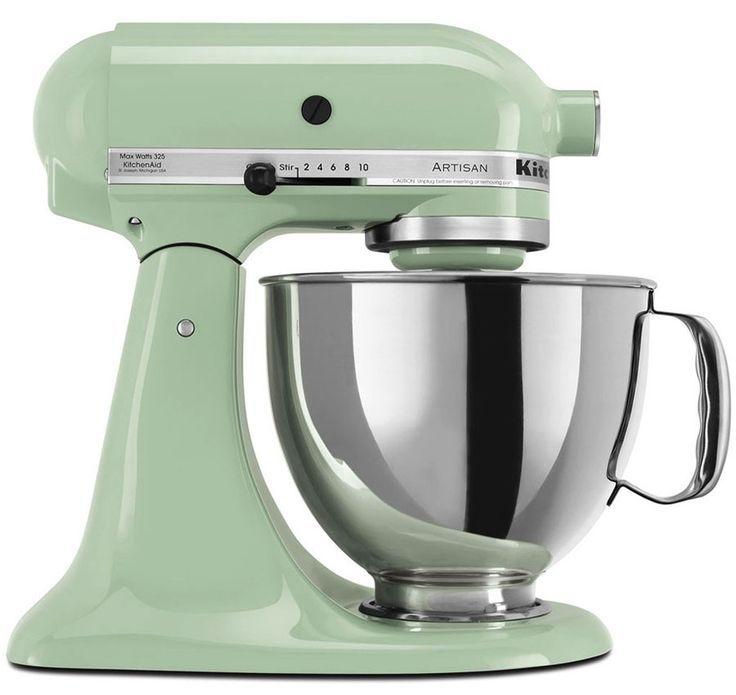 220 Volt Kitchen Appliances Part - 20: 220 Volt KitchenAid Artisan Stand Mixer - Pistachio