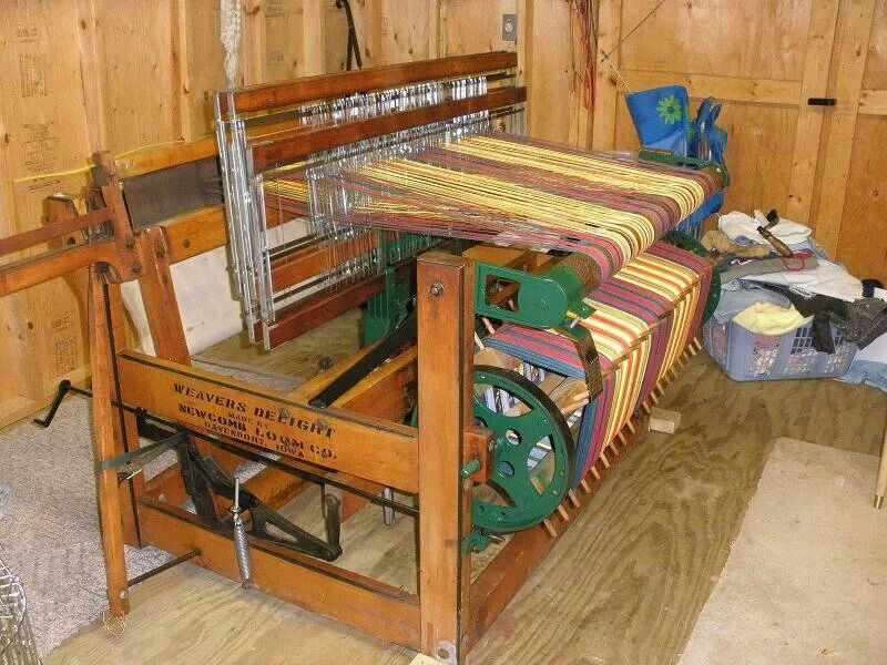 Weavers Delight Rug Loom.