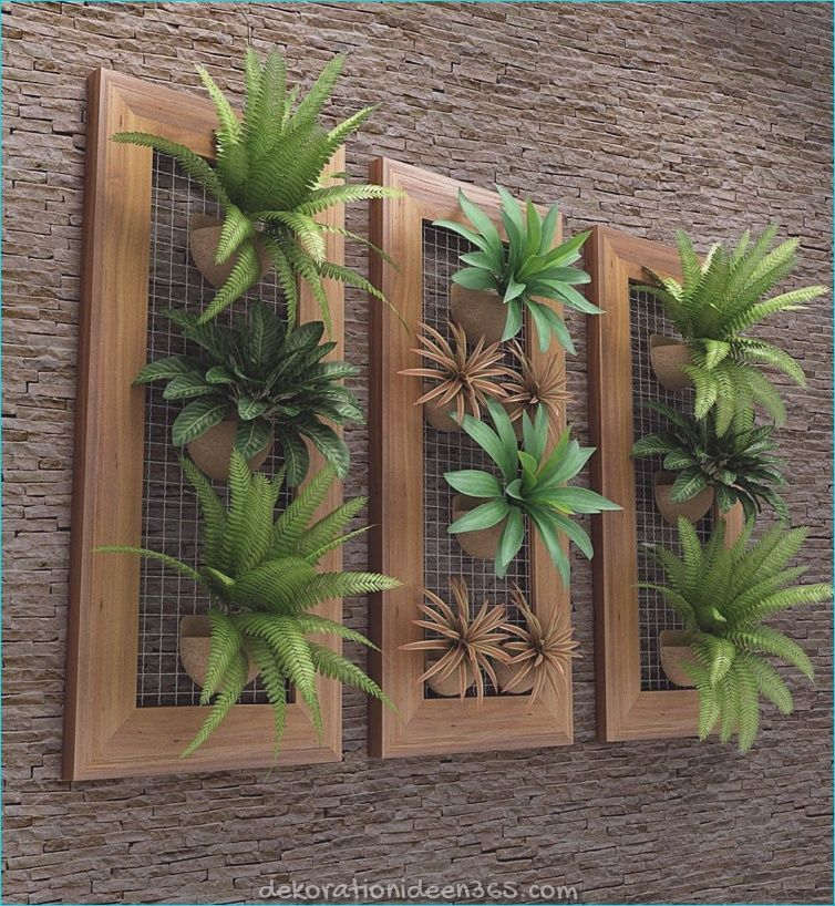 Photo of Wie man einen vertikalen Garten und sein Design drinnen und draußen gestaltet »Lebendige Ideen zur Inspiration