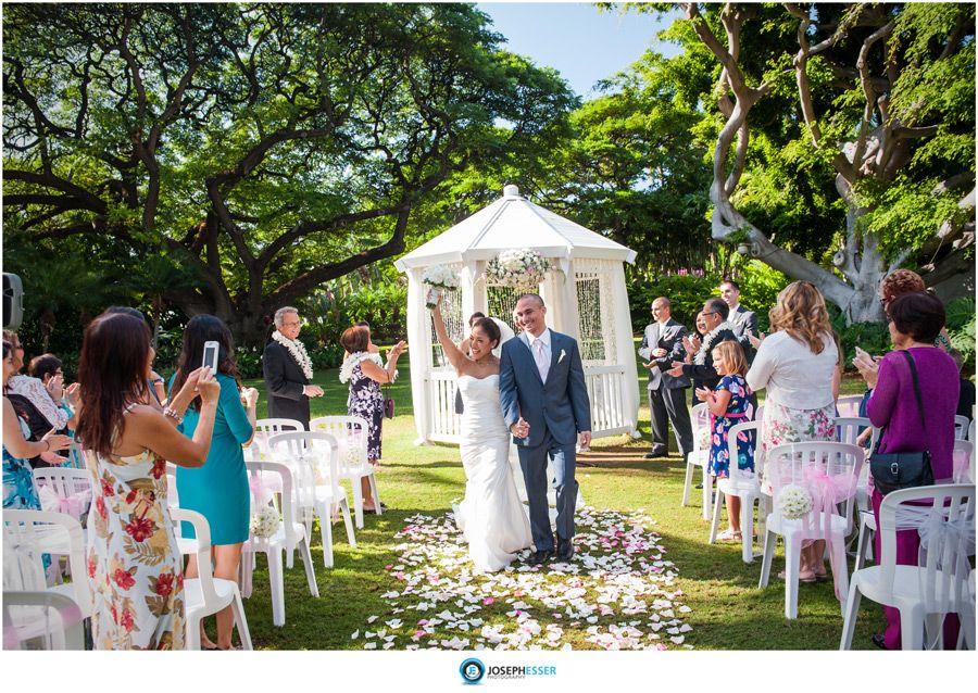 Hale Koa Hotel Wedding Photography by Joseph Esser