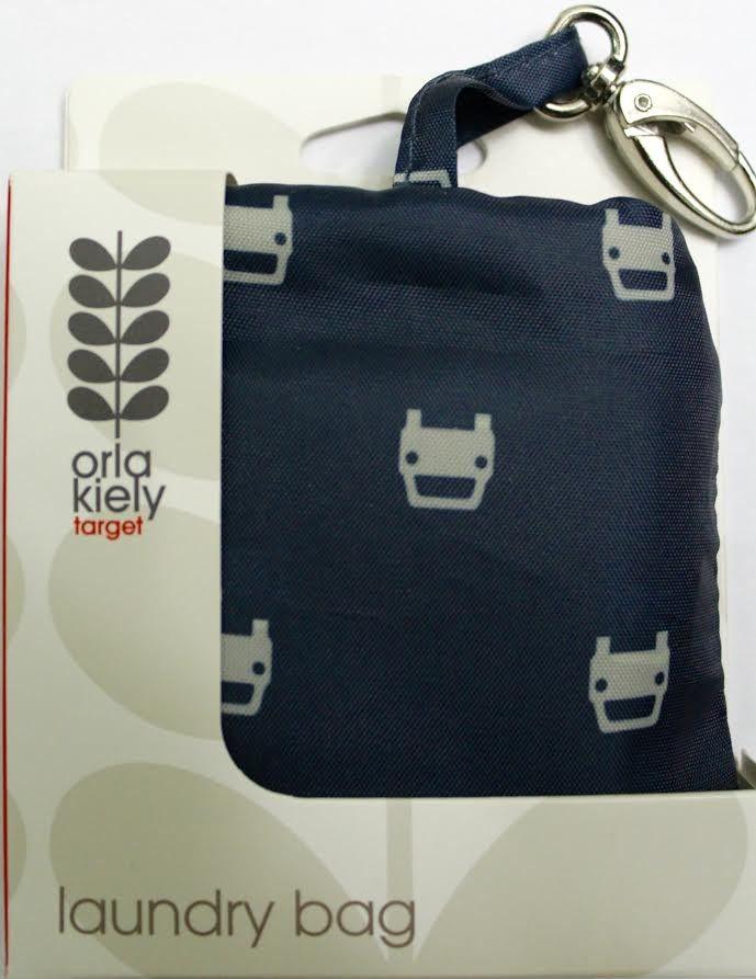 b15d2541bd78 Orla Kiely Laundry Bag - Navy Blue Coach Tote