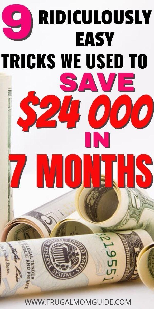 So haben wir in 7 Monaten 24.000 US-Dollar bei einem Einkommen gespart   – Financial Tips
