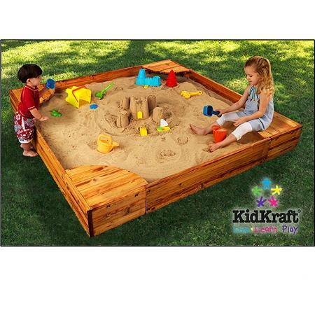 Toys Backyard Sandbox Kids Sandbox Diy Sandbox
