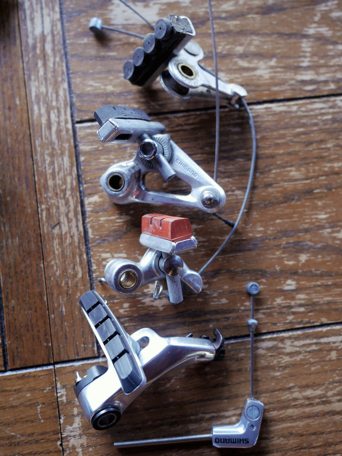 Mafac cantilevers | Restoring Vintage Bicycles from the Hand