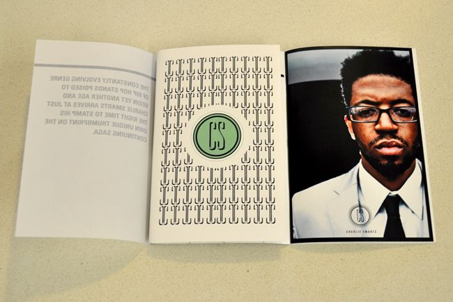 Identity  Press kit designed and produced for BDMG artist, Charlie
