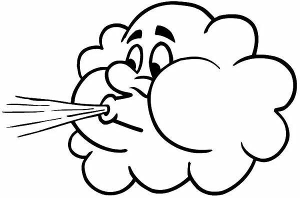 Pin By Ha Trinh On Stencils Silhouette Voorbeelden Enz Weather Symbols Wind Drawing Blowing Wind