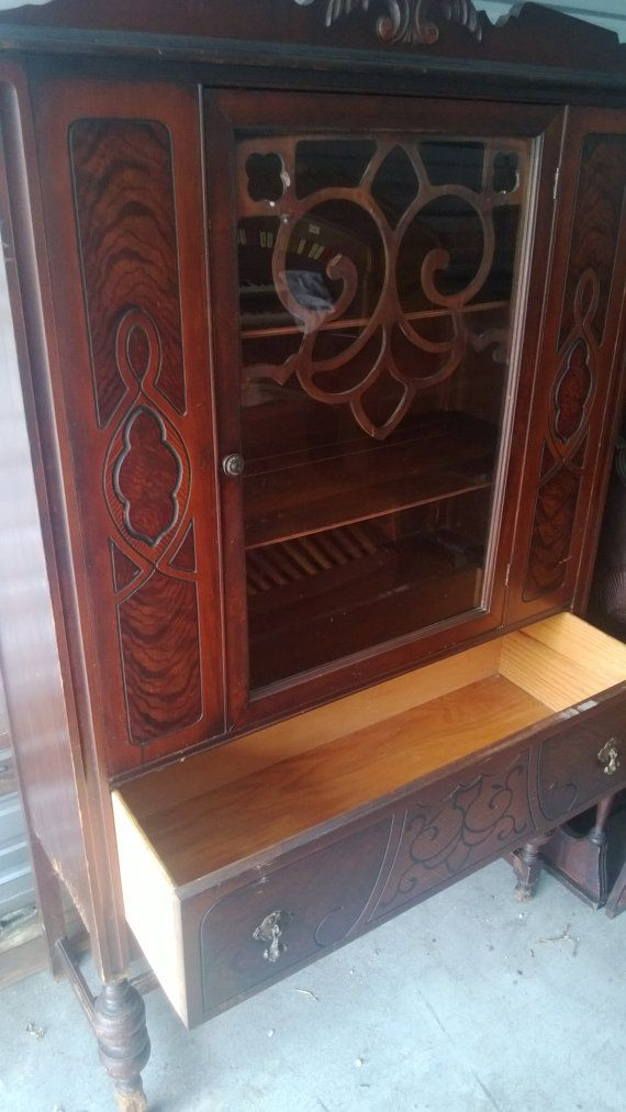 Antique Showers Brothers China Cabinet by ReclamationNation ...