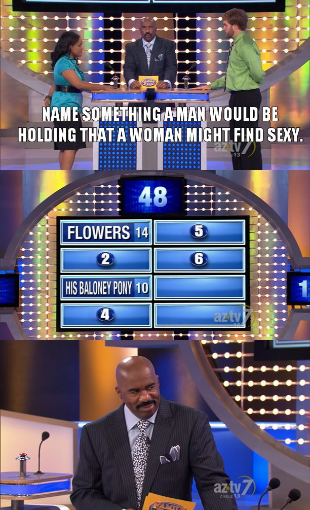 I may have to start watching Family Feud again... - Imgur