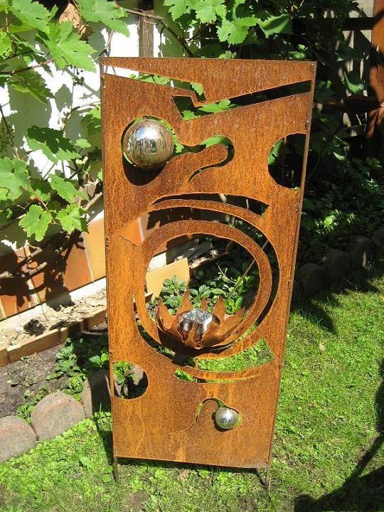 Gartendeko Modern gartendeko edelrost modern decor modern