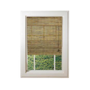 Matchstick Light Filtering Bamboo Roman Shades Kohls Bamboo