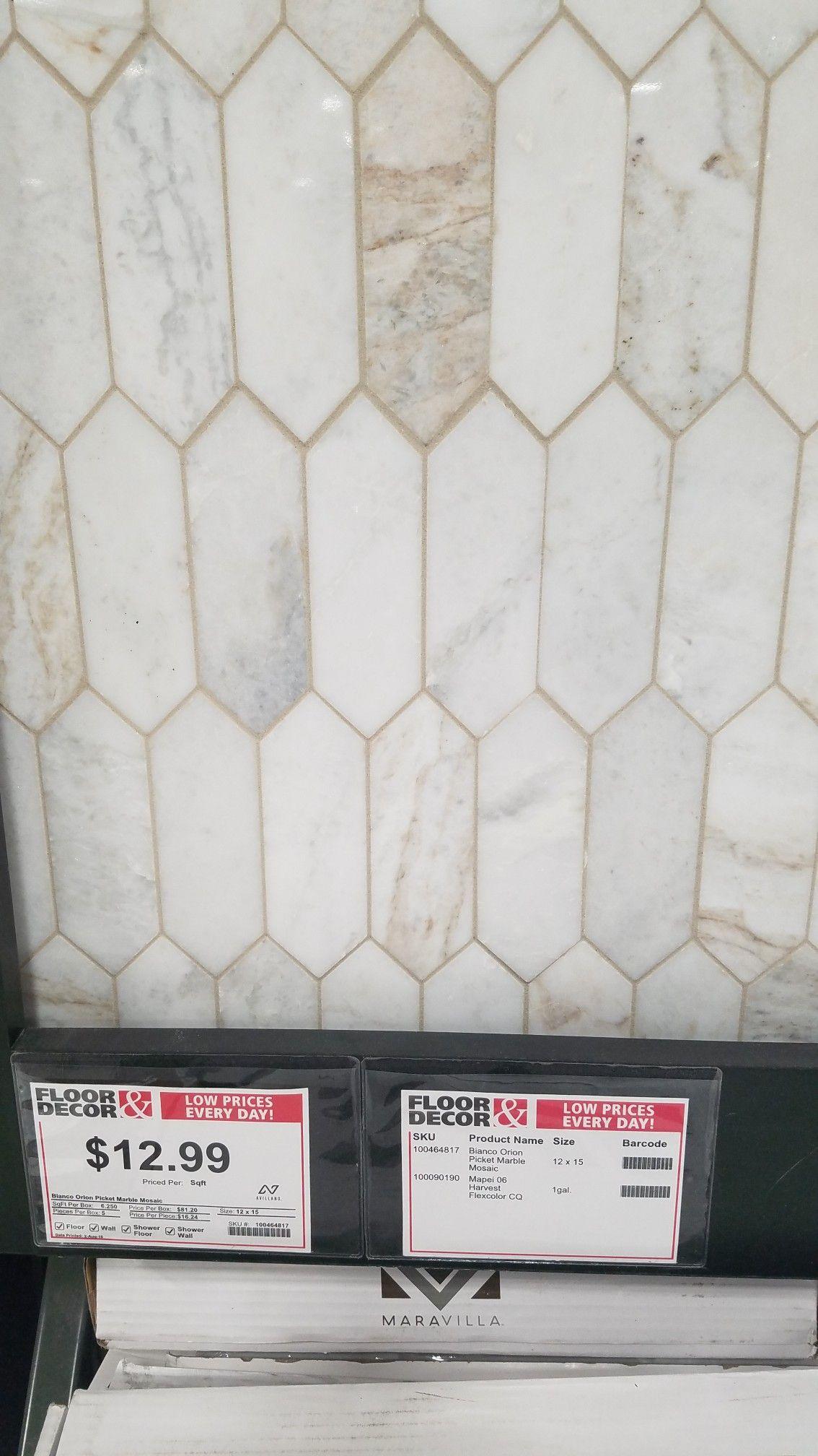 Shower Wall Tile In 2020 Floor Decor Kitchen Backsplash Flooring