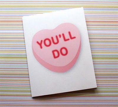 valentine - you'll do
