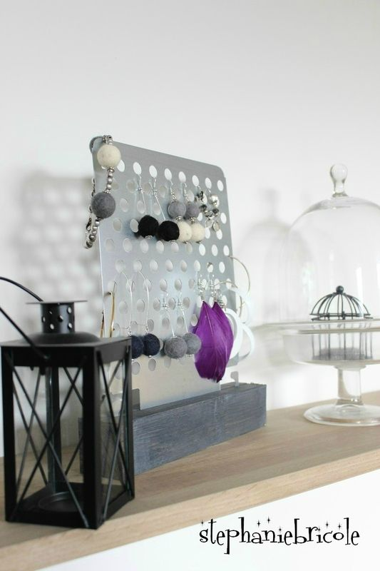 un range boucles d 39 oreilles brico d co diy. Black Bedroom Furniture Sets. Home Design Ideas