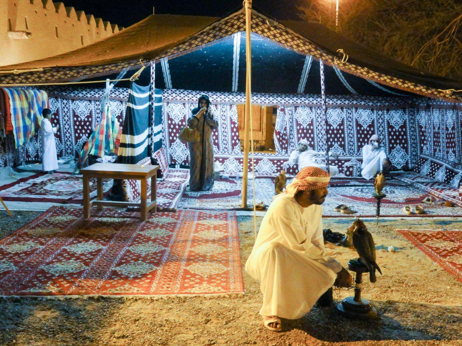 Al Ain Uae Handicrafts Festival At The Al Qattara Arts Centre