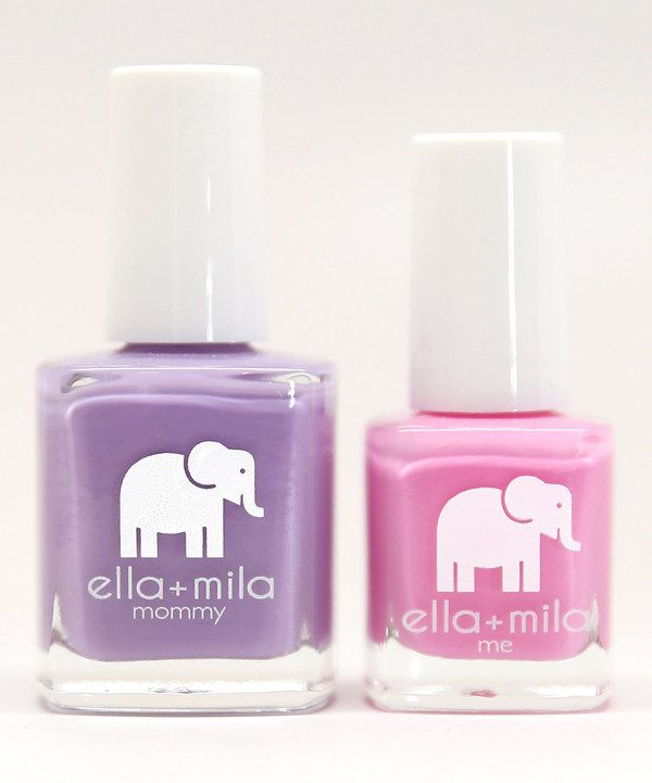 Look at this Lavender Fields & Pinkterest Mommy & Me Nail Polish Set on #zulily today!