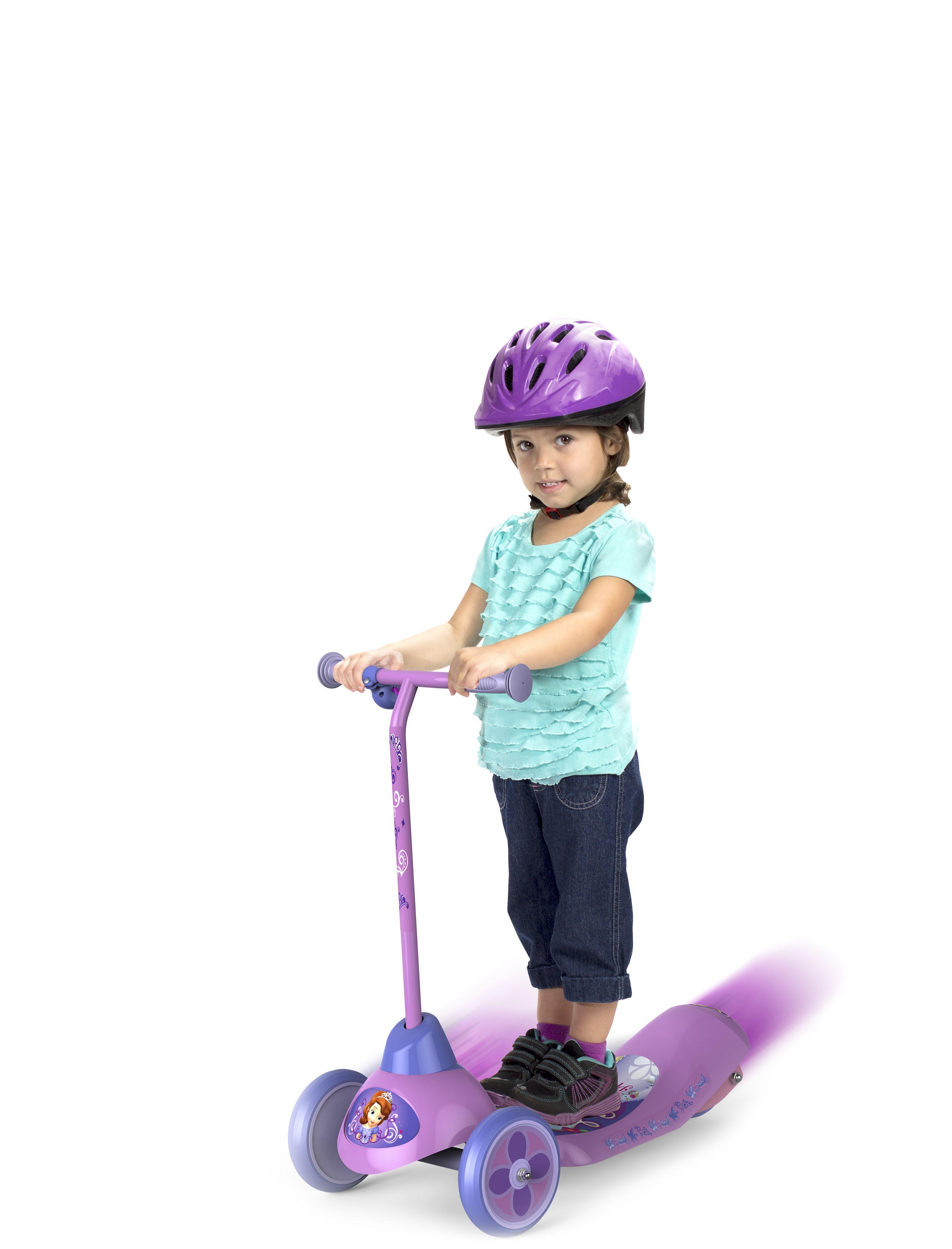 Princess Sofia Safe Start Electric Scooter Disney Sofia