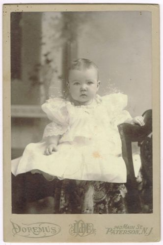 Little-Baby-In-White-Paterson-New-Jersey-by-Doremus-1890s ...