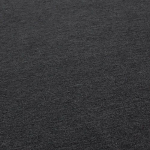 117ba6f01c3 Heather Charcoal Gray Solid Cotton Jersey Knit Fabric | Fabric to ...