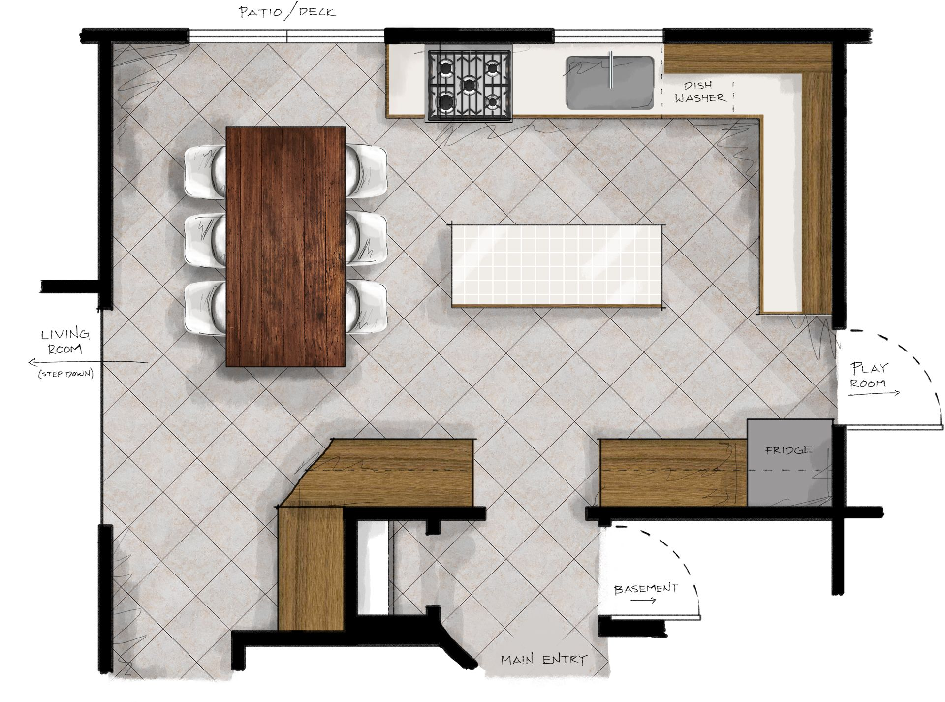 New Kitchen Plans Making Nice In The Midwest Kitchen Plans Industrial Kitchen Design New Kitchen