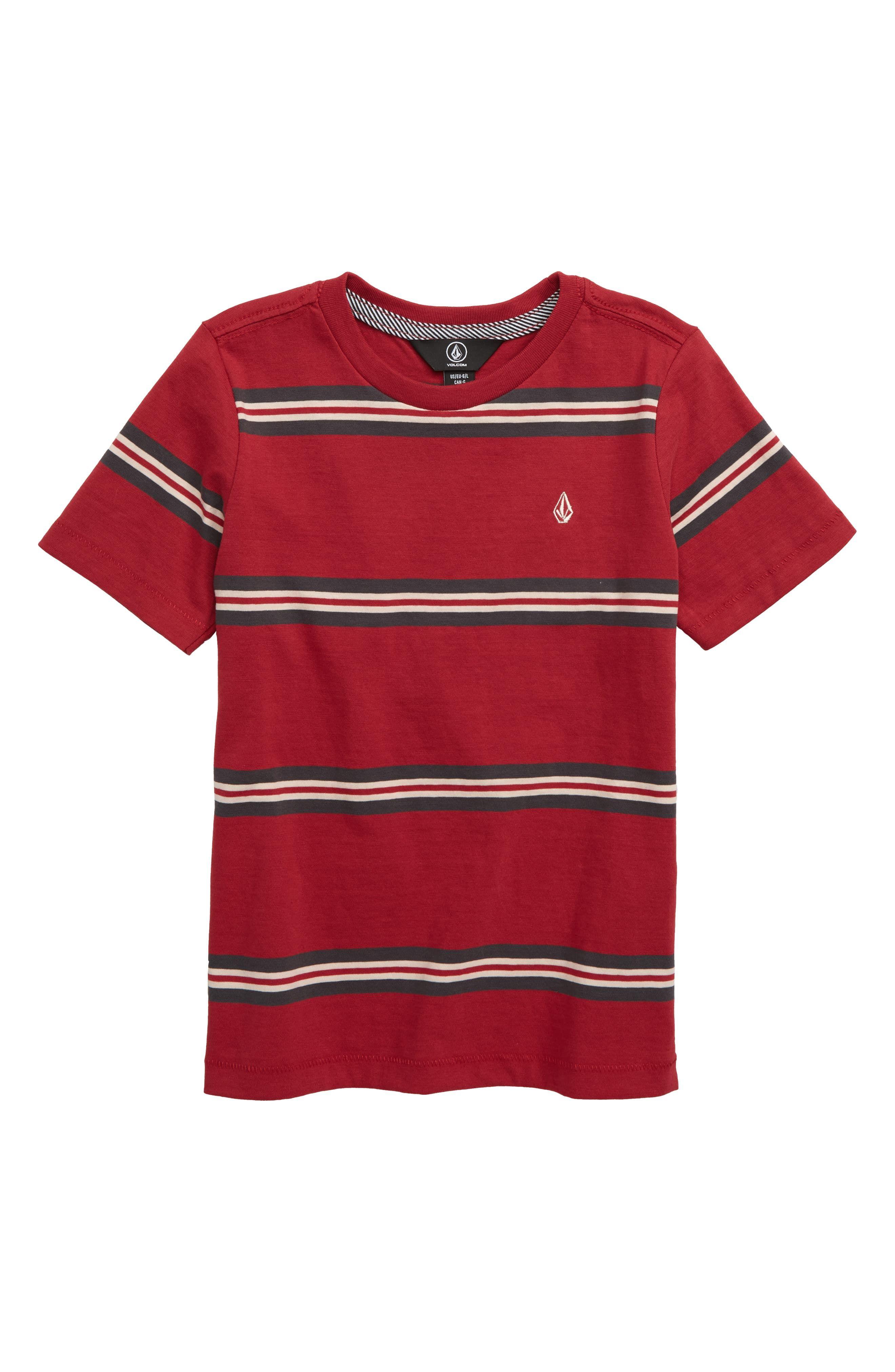 Volcom Beauville Stripe T Shirt (Toddler Boys & Little Boys