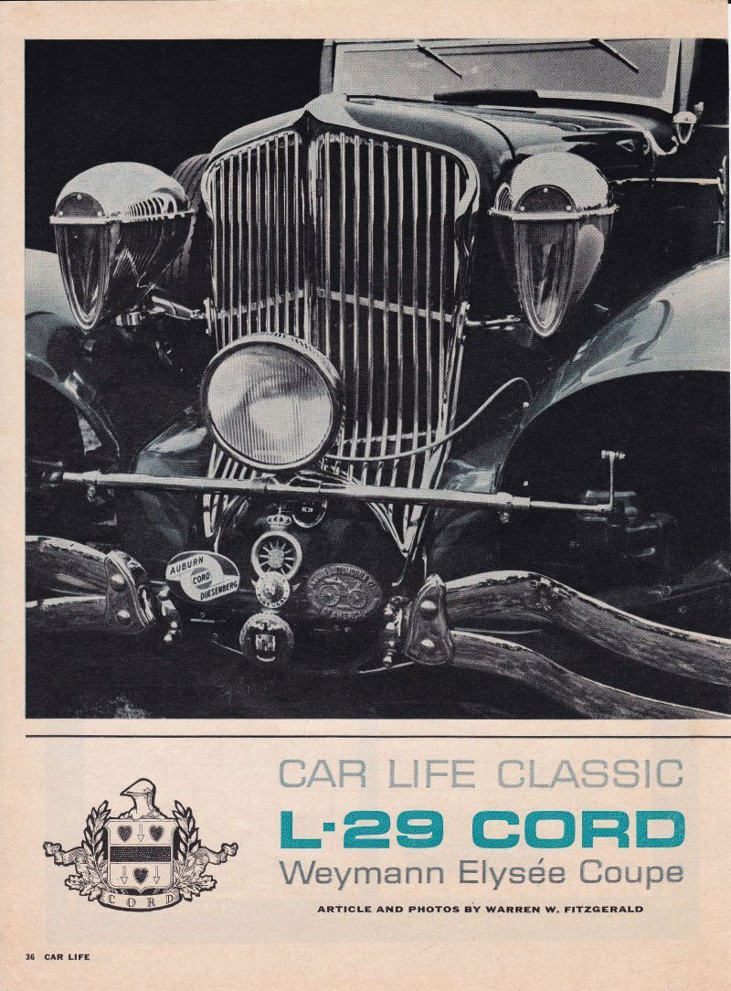 1930 cord by weymann (With images) | Cord, Movie posters, Photo